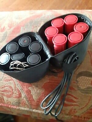 £9.95 • Buy Nicky Clarke Travel Heated Hair Curlers & Clips Rollers