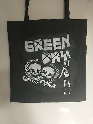 £10 • Buy Green Day Tote Bag Official 2009 Tour Merch 21st Century Breakdown Pop Punk Emo