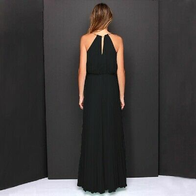 £18.89 • Buy Lace Long Chiffon Prom Bridesmaid Maxi Dress Evening Formal Ball Gown 8-18