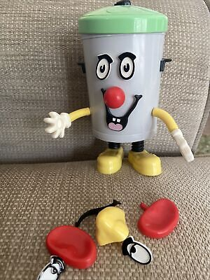 £8 • Buy Plastic Dusty Bin With Changeable Accessories 8 Inches