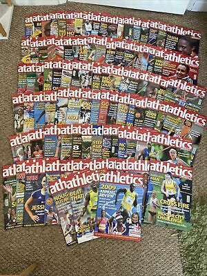 £20 • Buy 98 Issues Of Athletics Weekly 2008-2010