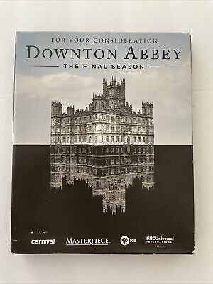 £7.24 • Buy Downtown Abbey FYC DVD 8th Final Season 3-Discs For Your Consideration