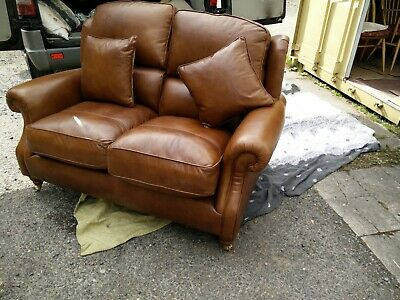 £550 • Buy Stunning Parker Knoll Oakham 2 Seater Leather Sofa