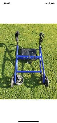 £55 • Buy Drive Folding 4 Wheel Rollator Walker Mobility Aid With Seat And Shopping Bag