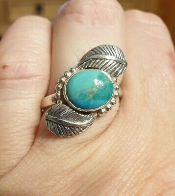 £25 • Buy Native American Indian Navajo Turquoise Ring