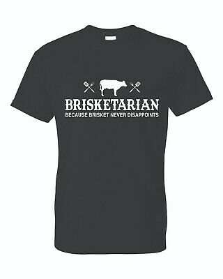 £9.50 • Buy Brisketarian Because Brisket Never Disappoints - BBQ Lover T-Shirt