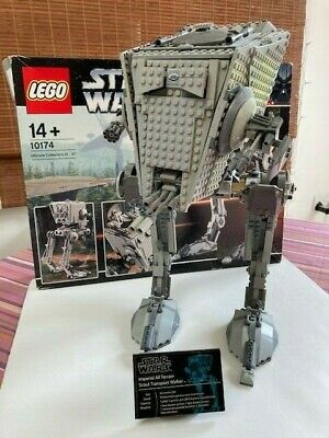 £160 • Buy LEGO Star Wars Ultimate Collector's AT-ST 10174 100% Complete With Box, No Instr