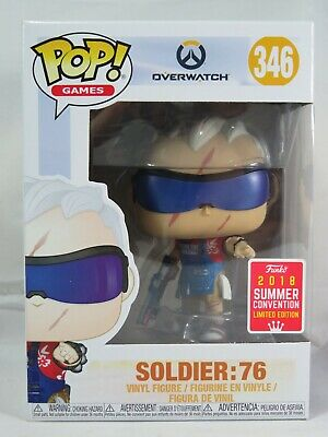 AU25 • Buy Games Funko Pop - Soldier:76 - Overwatch - SDCC Excl - No. 346 - Free Protector