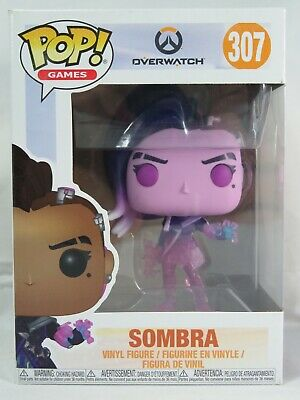 AU45 • Buy Games Funko Pop - Sombra (Translucent) - Overwatch - No. 307 - Free Protector