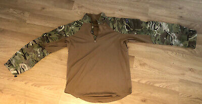 £9.90 • Buy British Army Hot Weather Brown MTP UBACS Under Armour Combat Shirt Size S