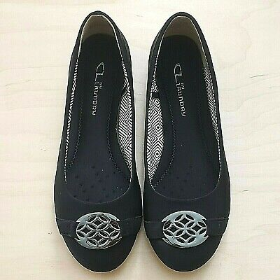 £0.72 • Buy Nice - CL BY LAUNDRY CHINESE LAUNDRY MARY BLACK WOMEN'S SLIP ON FLAT SHOES 7 M