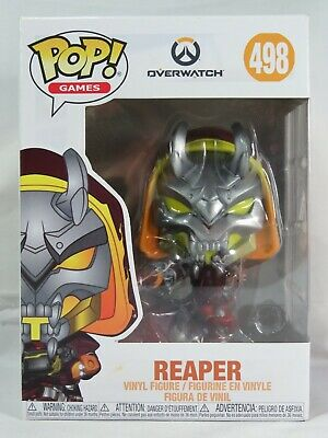 AU25 • Buy Games Funko Pop - Reaper (Hell Fire) - Overwatch - No. 498 - Free Protector
