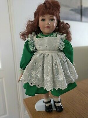 £2 • Buy Collectors Porcelain Doll On Stand
