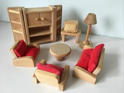 """£14.99 • Buy Elc """"My Little Home"""" Dolls House Furniture: Living Room 100% Complete VGC"""