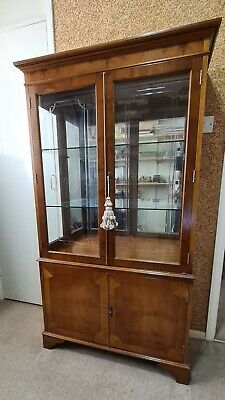 £70 • Buy Wood And Glass Display Cabinet