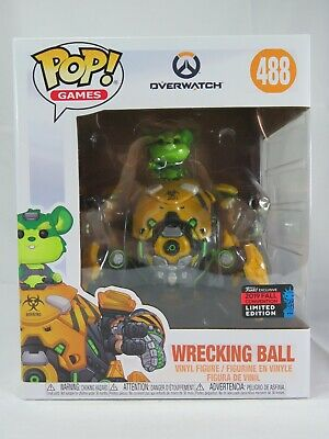 AU40 • Buy Games Funko Pop - Wrecking Ball (Toxic) - Overwatch - NYCC Exclusive - No. 488
