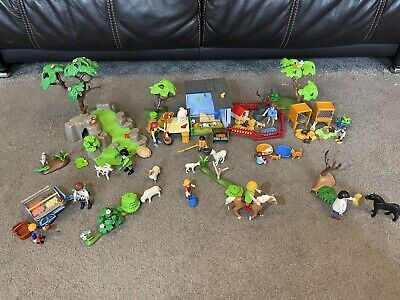 £19.65 • Buy Playmobil Petting Zoo / Farm Bundle With Many Figures & Accessories