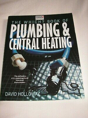 £5.99 • Buy Which?  Book Of Plumbing And Central Heating By Which? Books (Paperback,)