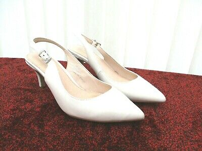 £12.50 • Buy  Office  Ladies Stone Coloured Shoes Size 4