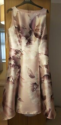 £30 • Buy Roman Dress 14 And Jacket With Fascinator New