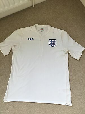 £10 • Buy Vintage England Football Shirt 2010/2012 Size 44 Very Good Clean Condition