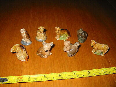 £5 • Buy Job Lot Wade Whimsies Fawn Owl Cow Collie Mouse Gorilla Squirrel Salmon See Info