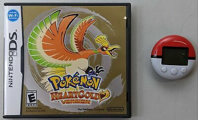 $299.99 • Buy Nintendo DS Pokemon HeartGold Version Authentic With PokeWalker Not For Resale