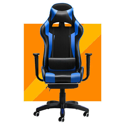 AU117.92 • Buy Executive Office Chair Ergonomic Gaming Chair Computer Desk Seat Swivel Recliner