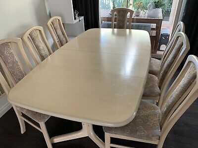 AU160 • Buy Extendable Dining Tables And 8 Chairs