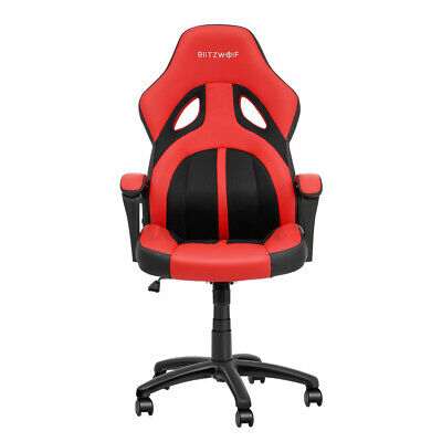 AU89.99 • Buy BlitzWolf Gaming Chair Office Computer Chairs Executive Racing Recliner PU/Mesh