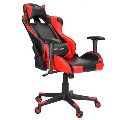 AU119.91 • Buy BlitzWolf Gaming Chair Office Computer Chairs Executive Racing Footrest Recliner