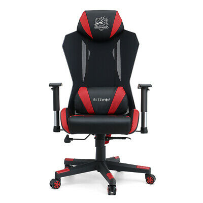 AU125.91 • Buy BlitzWolf Gaming Chair Office Computer Chairs Executive Footrest Recliner 250kg