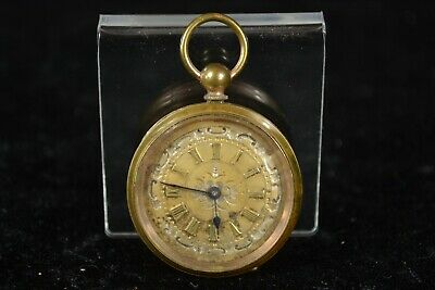 £6.99 • Buy Vintage FWC Key Wound Mechanical Pocket Watch In Copper Case SPARES
