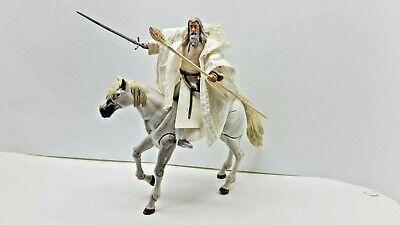 £20 • Buy Lord Of The Rings Gandalf With Shadowfax Action Figures Toybiz