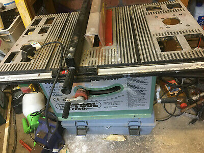 £43 • Buy Nu Tool Power HSI 500 Circular Saw Bench Excellent Used Condition