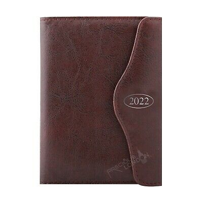 £11.99 • Buy 2022 Diary A5 Day A Page Personal Organiser Brown Appointment Book UK Seller