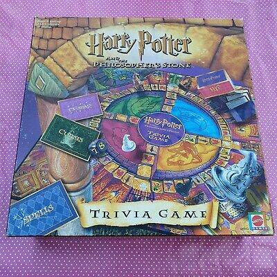 £2.38 • Buy Harry Potter And The Philosopher's Stone Trivia Board Game 100% Complete