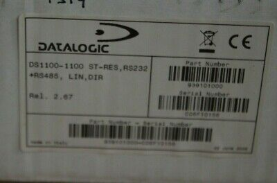 £20 • Buy Datalogic DS1100 Embedded Barcode Scanner (RS232, RS485) - NEW SEALED