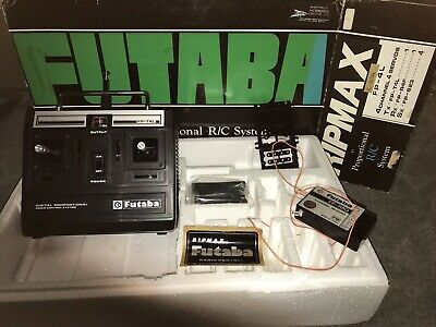 £20 • Buy Vintage Futaba Ripmax 35mhz 4 Channel Transmitter And Receiver. FP 4 L