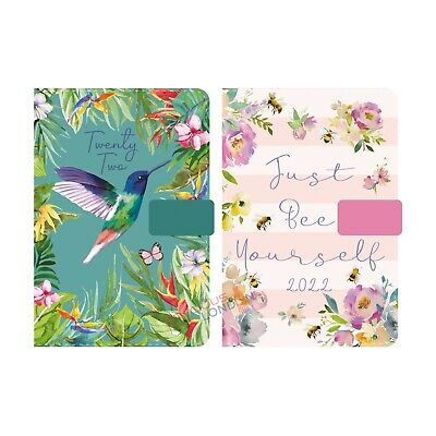 £6.99 • Buy 2022 Diary Day A Page Index Personal Organiser A5/A6 Hardback Appointment Book