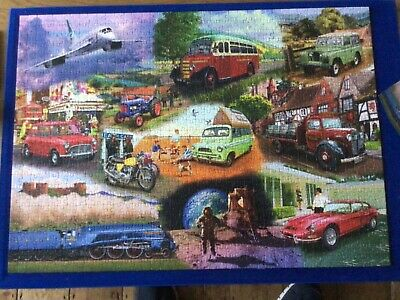 £3 • Buy Iconic Emgines Mat Edwards 1000  Piece Jigsaw By Gibsons