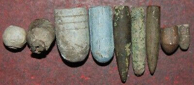 £10 • Buy Collection Of Old Lead Bullets From The Napoleonic War To World War II