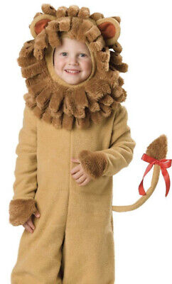 £18.18 • Buy Lil' Lion Costume Toddler Size 18-24 Months Deluxe Plush Lined 2 Piece Outfit