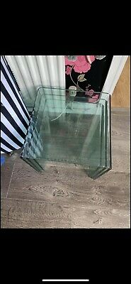 £70 • Buy Nest Of Glass Tables