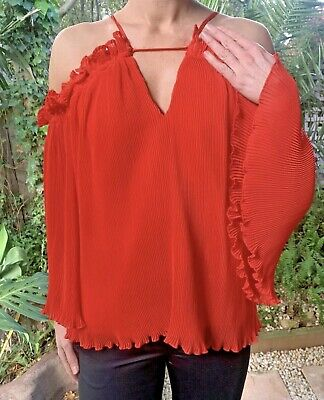 AU35 • Buy Quick Sale! ALICE MCCALL Do You Mean Red Top - Size 10/12