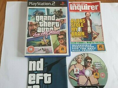 £14.95 • Buy Grand Theft Auto Vice City Stories Sony PlayStation 2 PS2 Game Complete
