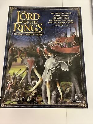 £50 • Buy Middle Earth  Lord Of The Rings: War Mumak Of Harad New On Sprue