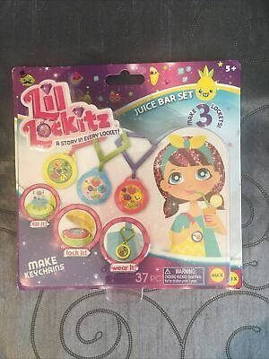 £3.88 • Buy Lil Lockitz Make Your Own Keychain & Clip Keyring Fun Toy Gift