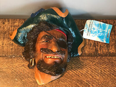 £30 • Buy Bossons/Legends  Captain Sir Henry Morgan  Chalk Ware Character Head 1983