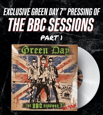 """£49.90 • Buy RARE Green Day 1994 BBC Session Vinyl Record 7"""" Album • Exclusive Limited Part 1"""